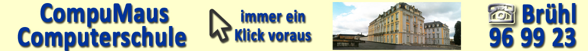 Willkommen bei Computerschule Brühl für jung & alt. Nutzen Sie Windows, Lernen Sie Word, Excel, Internet und Grafikbearbeitung in der Computerschule ganz in Ihrer Nähe von Brühl